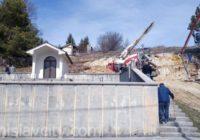 Lug/Tomislavgrad: Počeli radovi na uređenju spomen parka i dvorišta oko groblja spaljenih